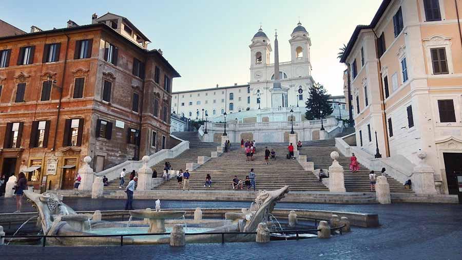 Guia de Roma - Plaza de España