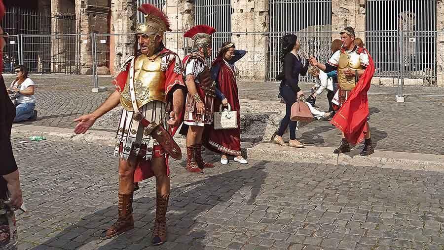 Guia de Roma, los gladiadores del Coliseo