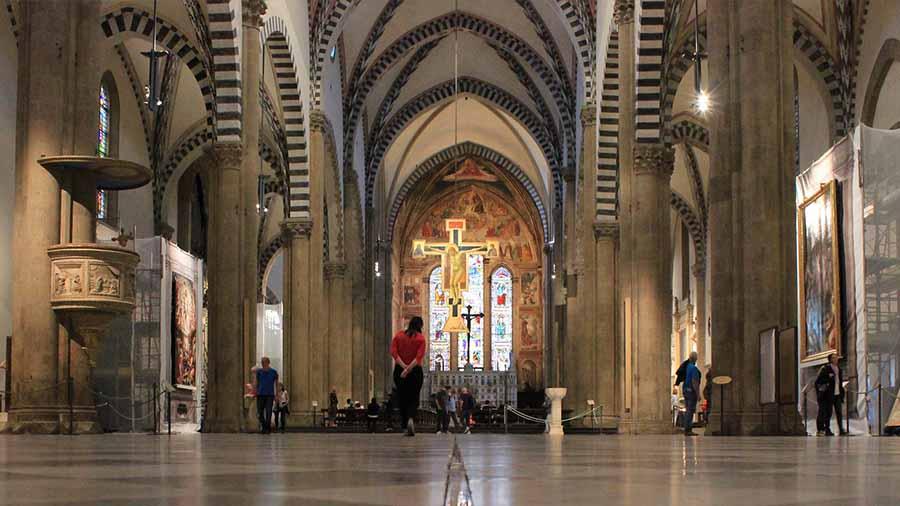 Santa María Novella interior