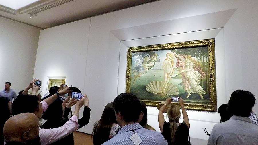 galeria uffizzi florencia