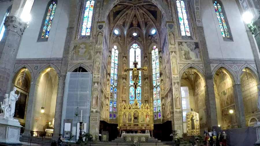 santa croce altar mayor