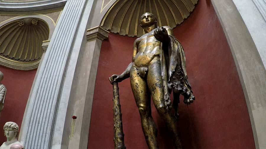 Hércules del Teatro de Pompeya