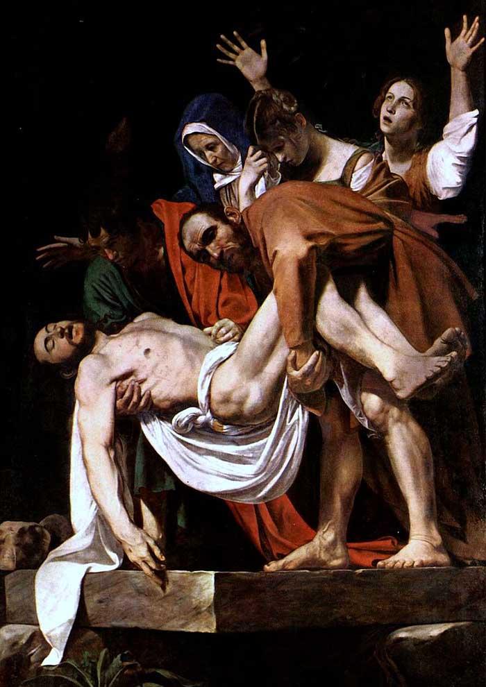Santo Entierro Caravaggio