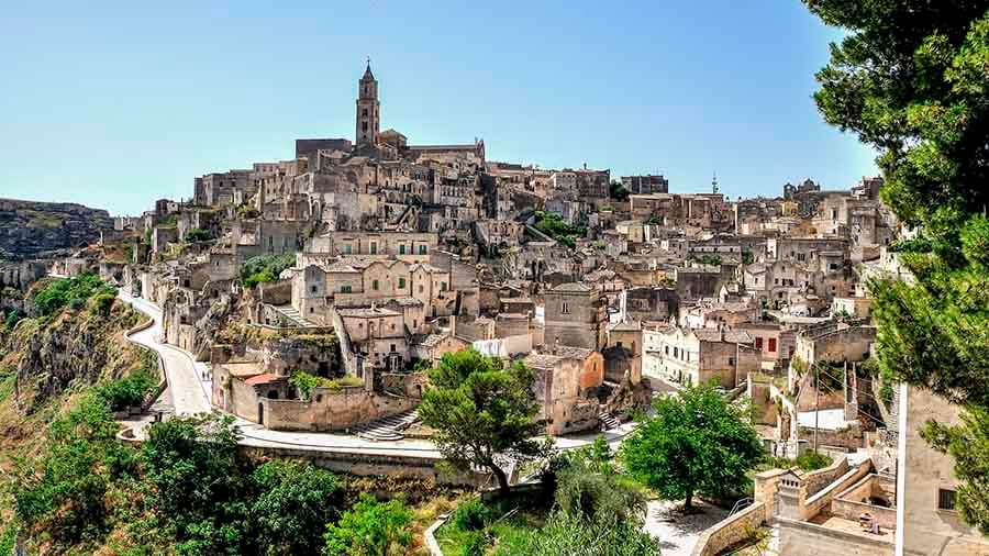 Sassi de Matera Italia