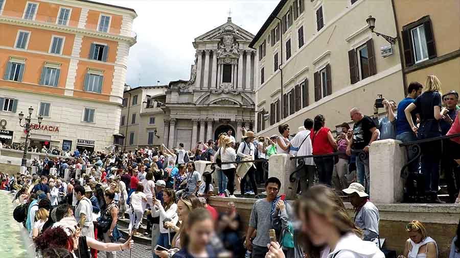 Dónde está la Fontana de Trevi