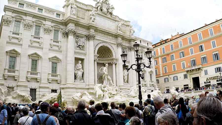 Qué representa la Fontana de Trevi