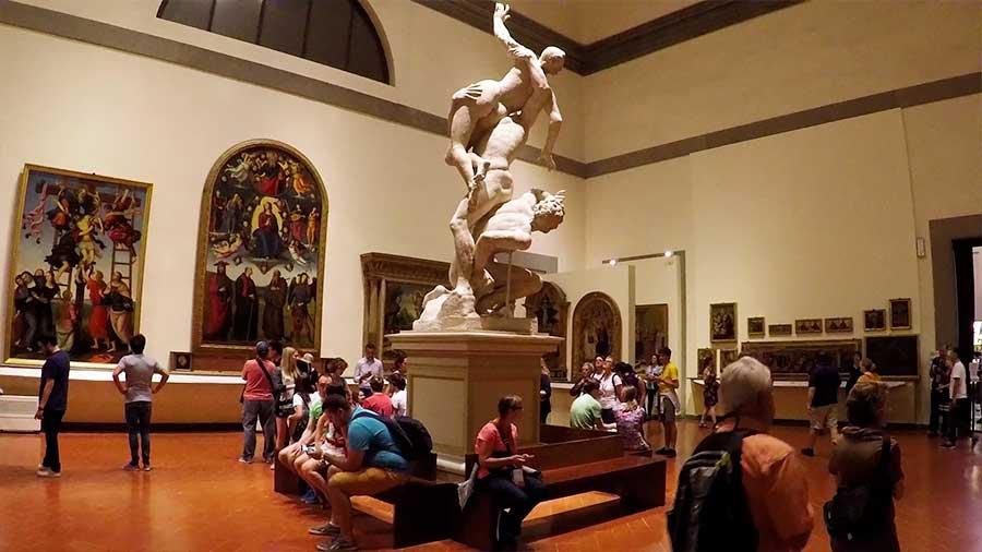 Salas que ver en la Galería de la Academia de Florencia