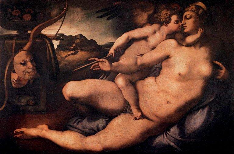 Venus y Cupido de Pontormo