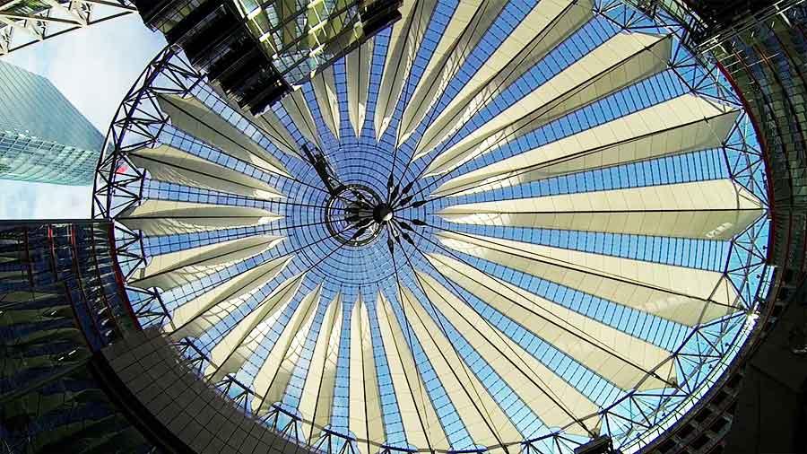 Cúpula del Sony Center en Berlín