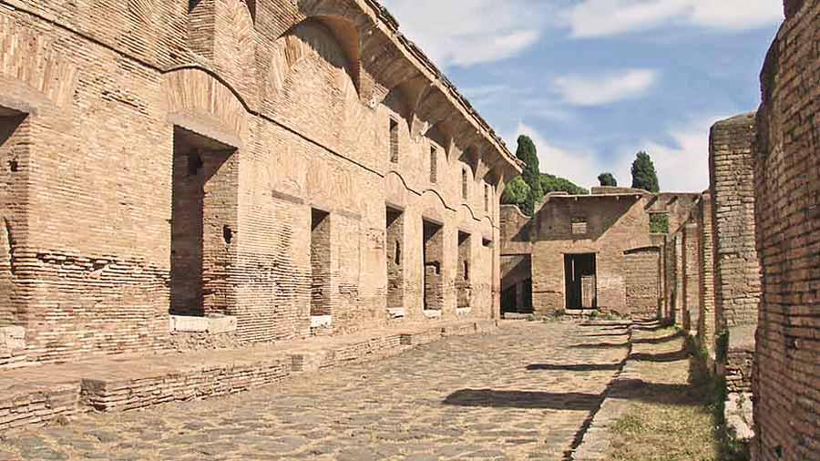 ostia antica italia