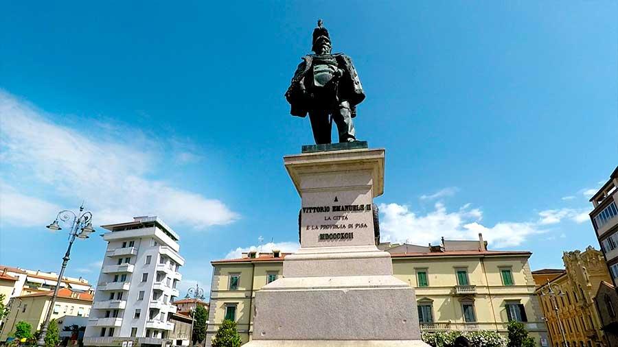 Piazza Vittorio Emanuele II Pisa