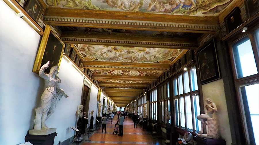 galería uffizi obras de arte que ver