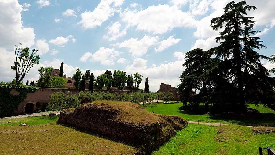 colina palatina romana