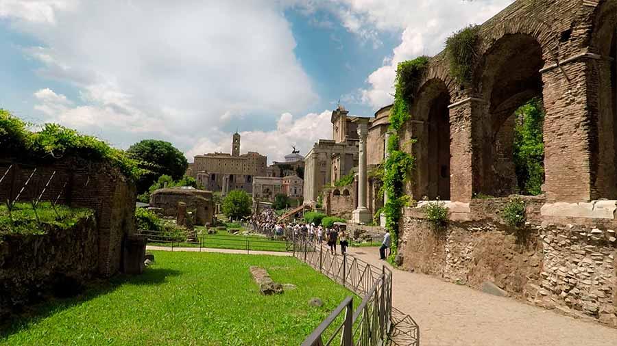 foro romano antigüedad