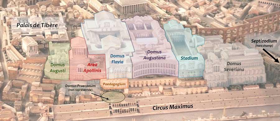 palacios imperiales de roma