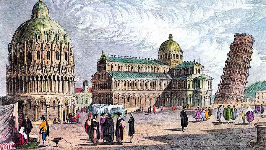 Torre de Pisa Historia