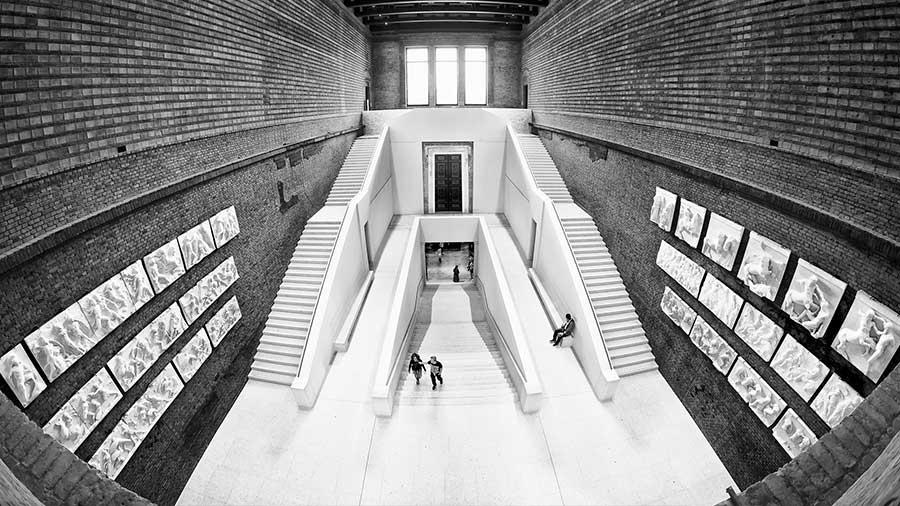 Museo Nuevo en la Isla de los Museos en Berlín