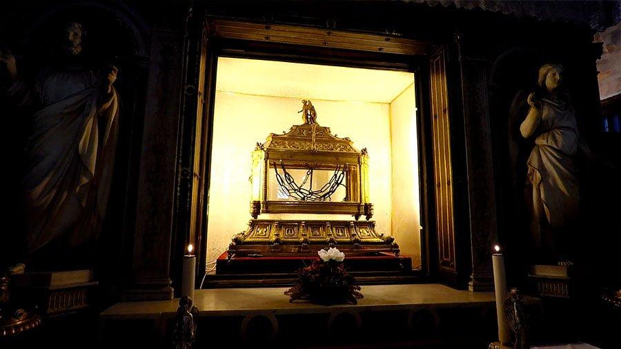 reliquias que ver en roma