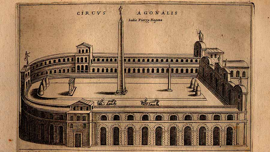 historia plaza navona