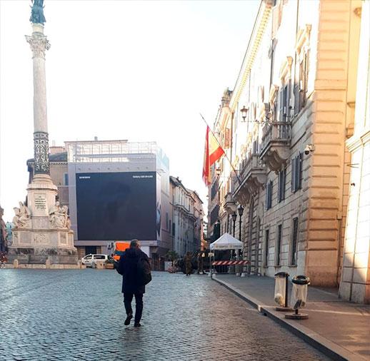 que ver en plaza españa roma