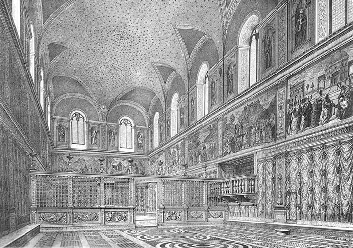 capilla sixtina roma