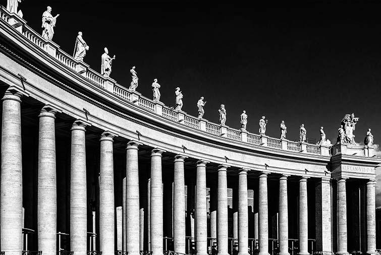 columnata de bernini