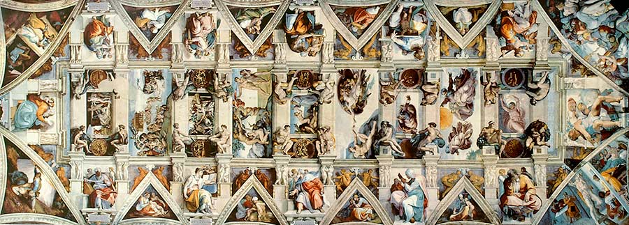 frescos capilla sixtina