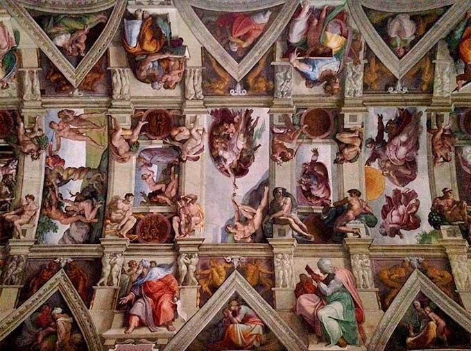 miguel angel capilla sixtina