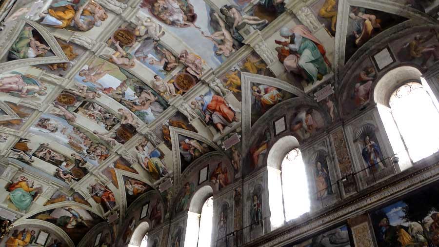 visita capilla sixtina