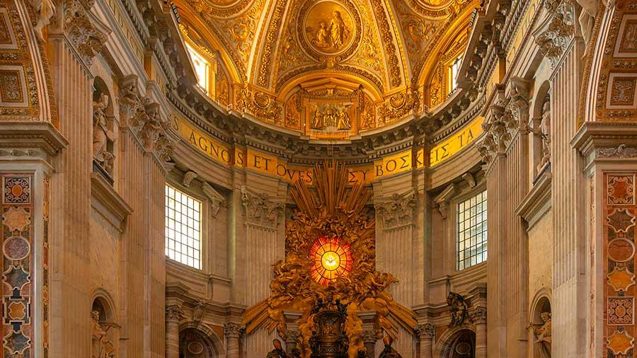 Cátedra Basílica de San Pedro en Roma