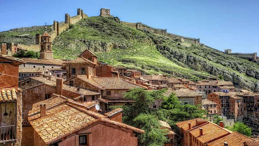 Albarracín se encuentra entre los pueblos más bonitos de España.