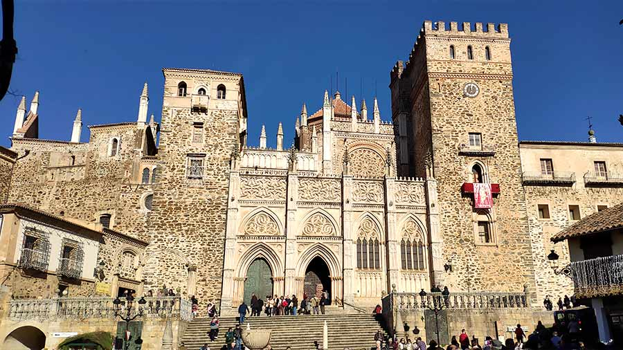Guadalupe, uno de los pueblos más bonitos de España.