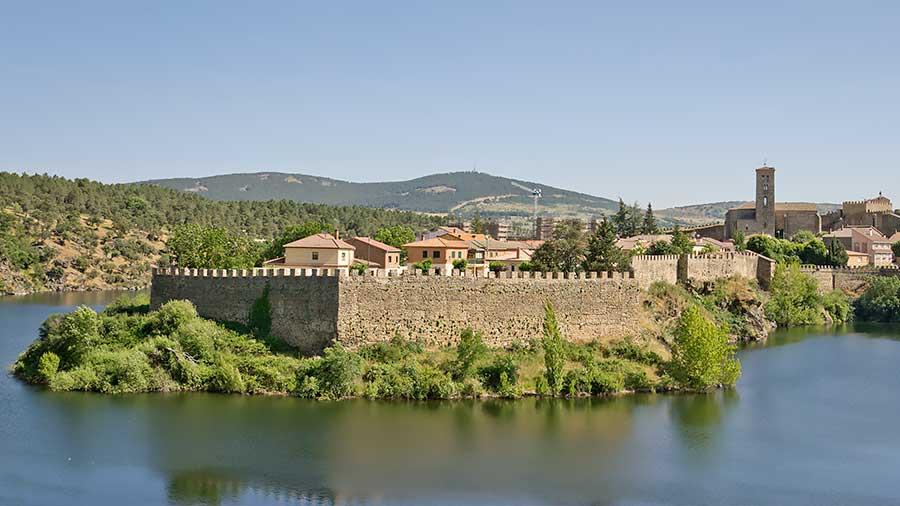 Las murallas de Buitrago.