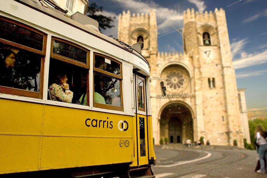 La Sé, uno de los imprescindibles que ver en Lisboa.