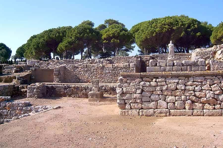 Ciudad griega y romana de Ampurias.